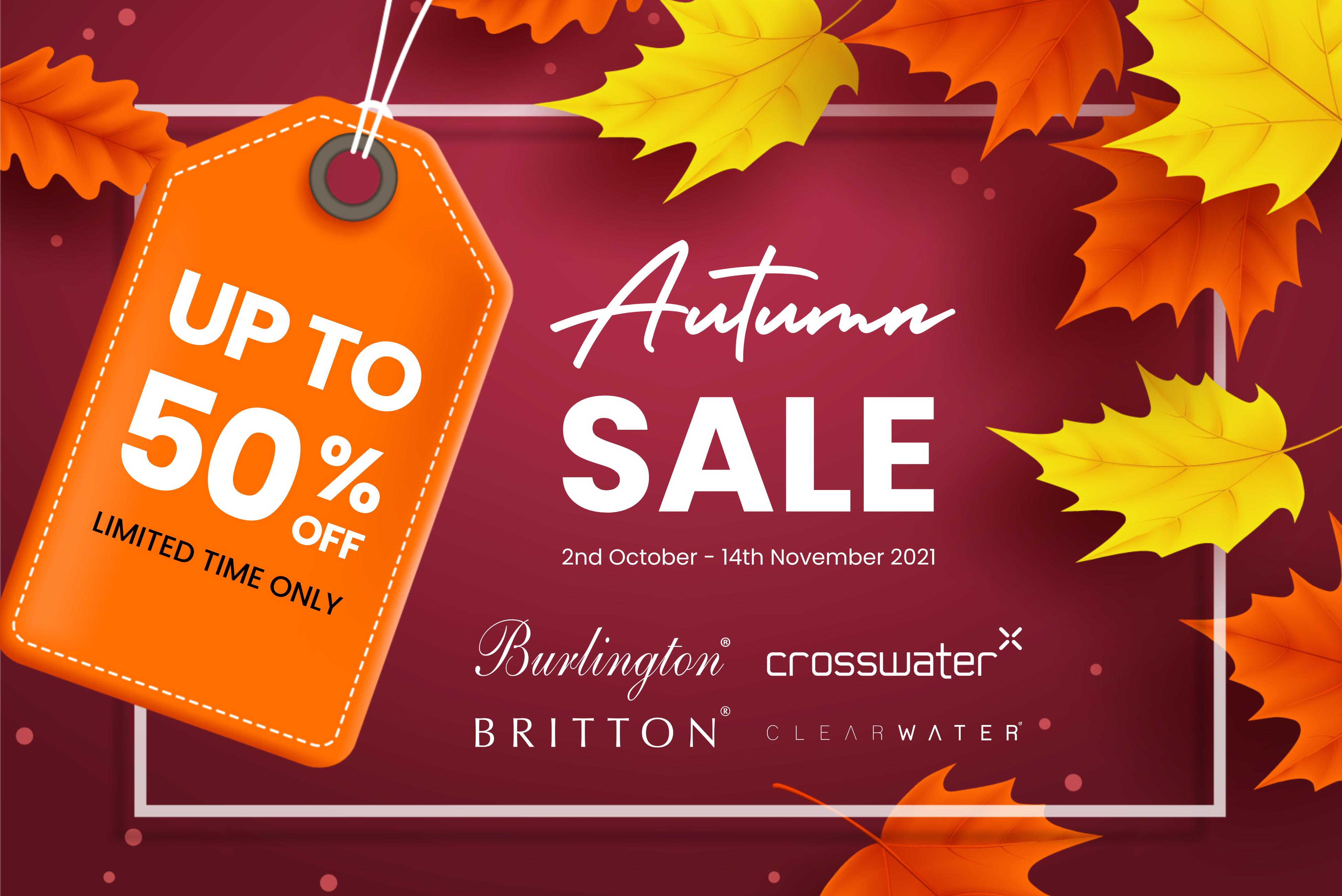 Our Autumn Bathroom Sale has Arrived